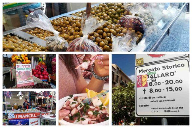 Palermo - lo storico mercato di Ballaro' - Street Food
