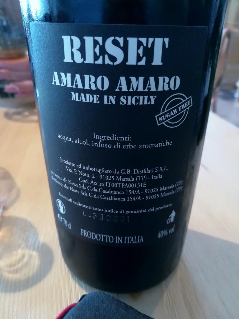 Parrinello - l'Amaro
