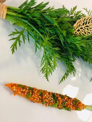 Petit Royal - carota glassata maracuja e spezie indiane