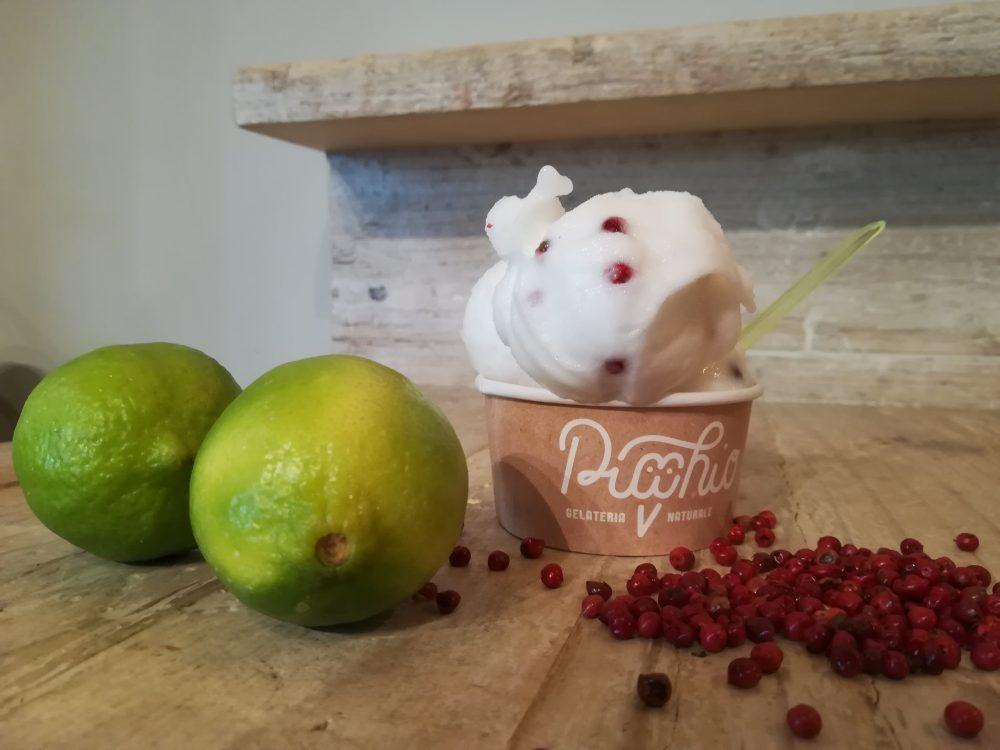 Picchio Gelateria - Fragola e limone