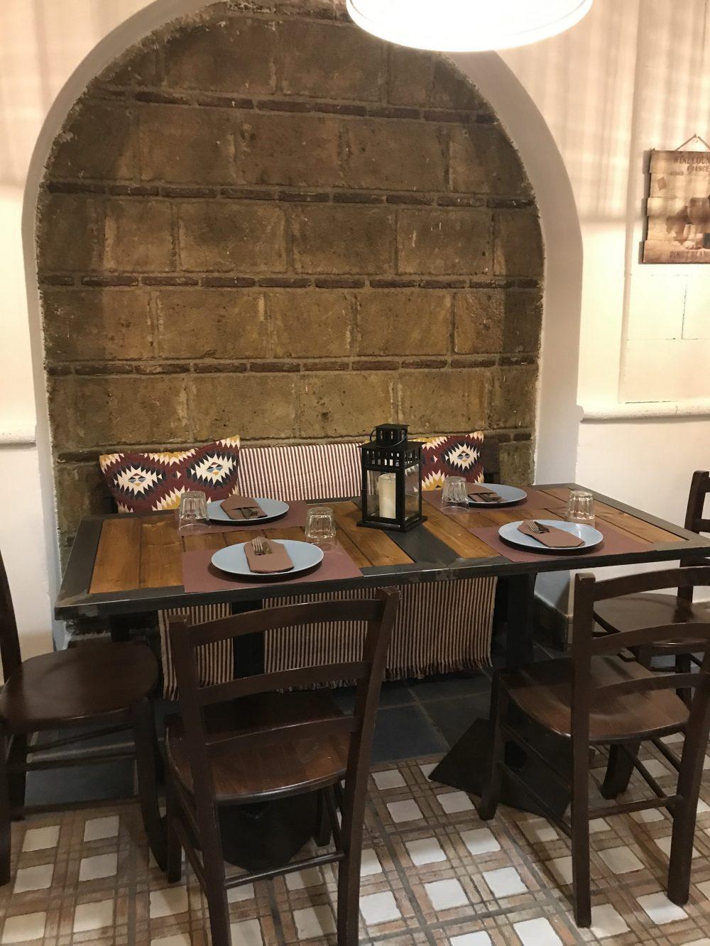 Pizzeria Il Giardino Rosso - Sala