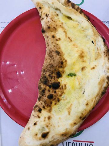 Pizzeria Vesuvio - Ripieno al forno con la scarola