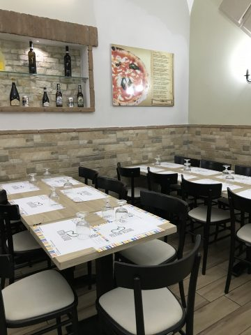 Pizzeria Vesuvio - Sala