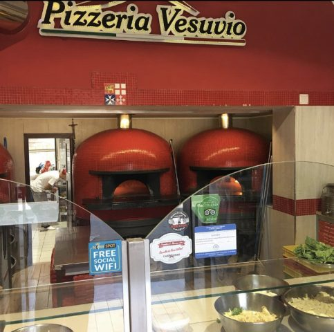 Pizzeria Vesuvio - forni
