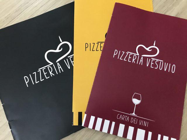 Pizzeria Vesuvio - menu', lista birre, carta dei vini