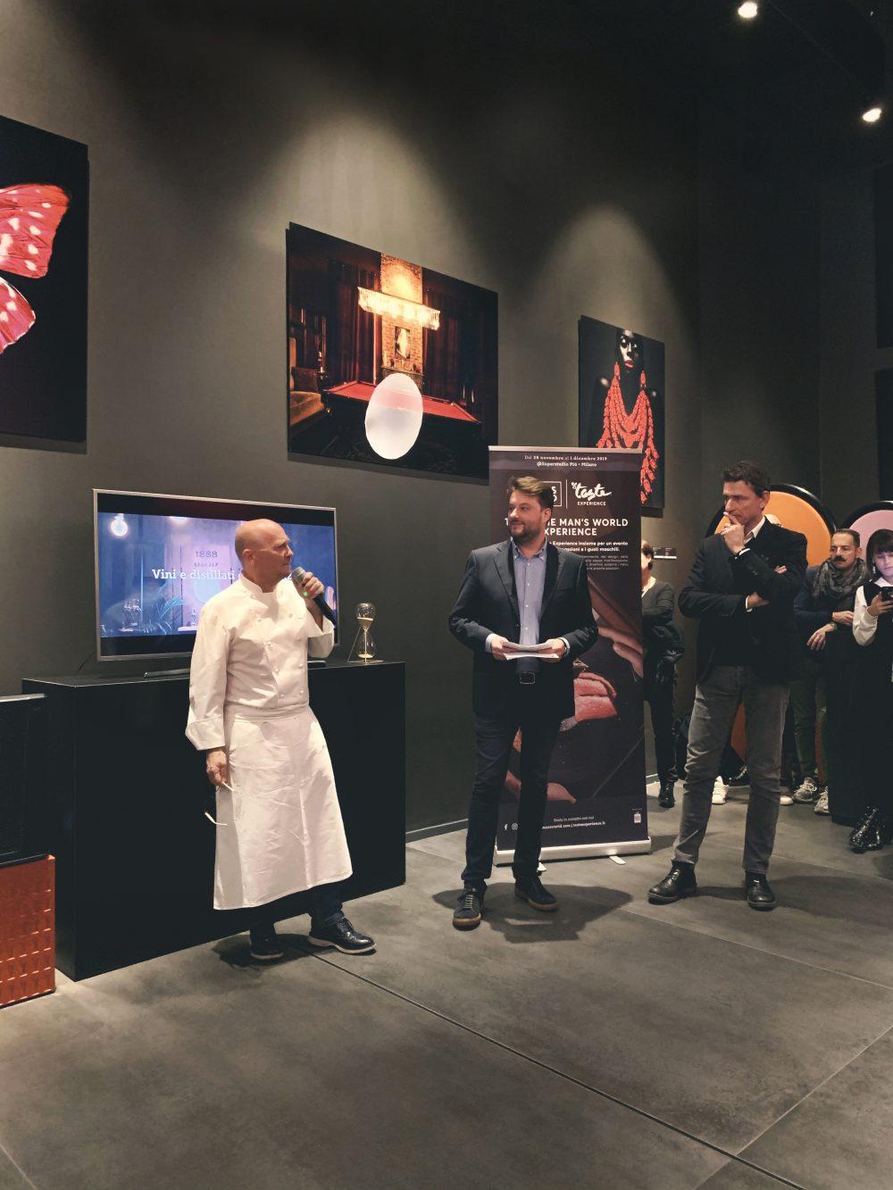 Presentazione Taste- La conferenza stampa foto - Credits Adriano Truscello