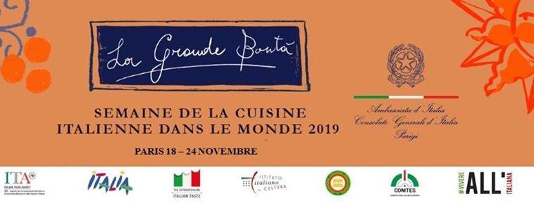 Settimana cucina italiana nel mondo
