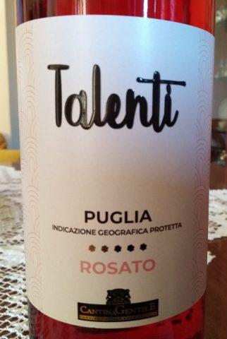 Talenti Rosato Puglia Igp 2017 Cantina Gentile
