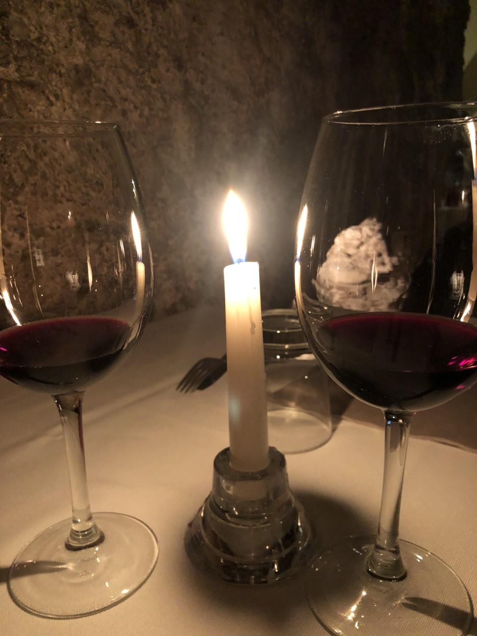 Vicorua - il vino e la candela