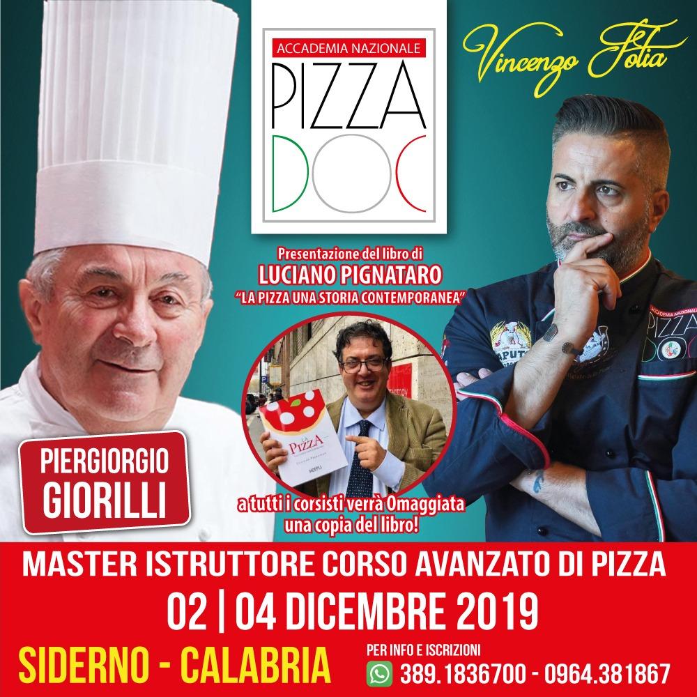 Siderno, 2-4 dicembre. Corso per pizzaioli e presentazione libro sulla Pizza