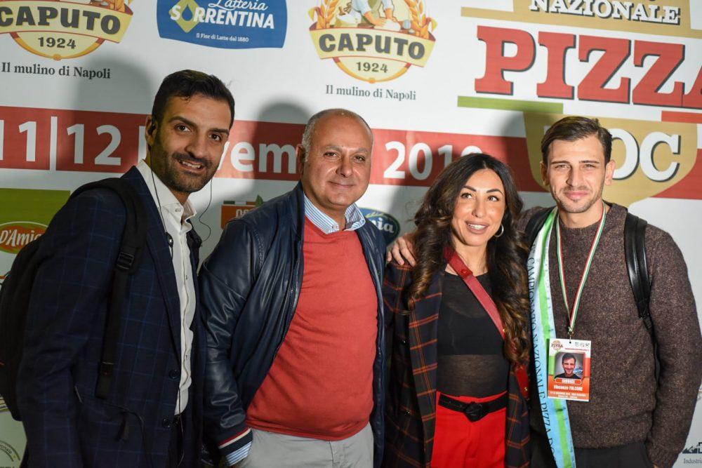 da sx Antonio Giaccoli, Solania, D'amico, Vincenzo Falcone
