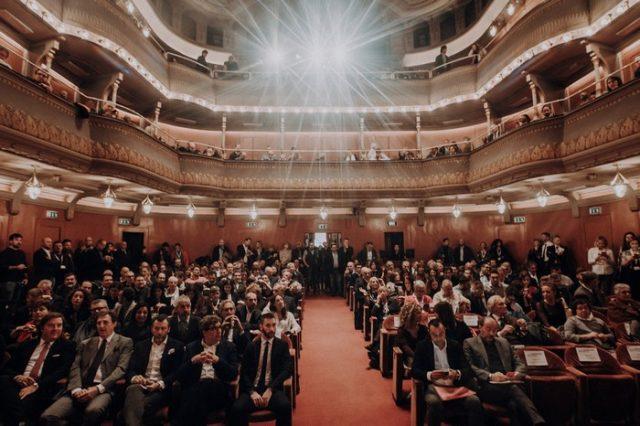 La platea del Teatro Puccini