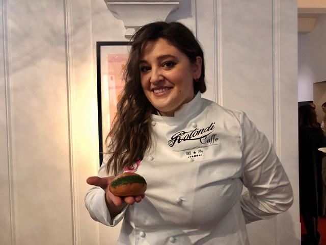 La pasticcera e biologa nutrizionista Cristina Rotondi