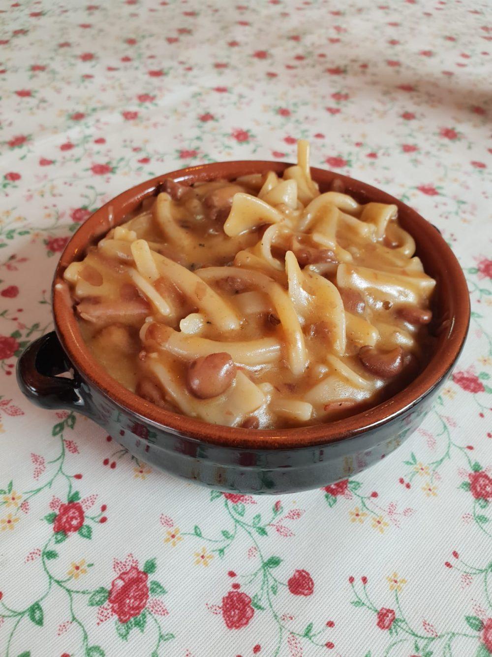 pasta fagioli e cozze alla vietrese di nonna Nannina