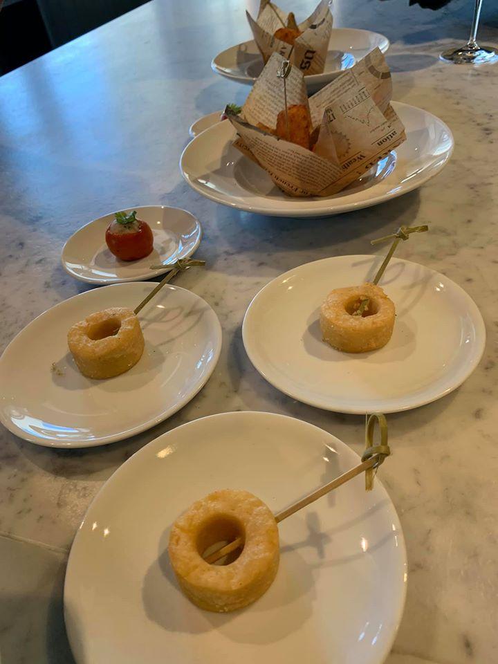 Ristorante Marenna' dei Feudi di San Gregorio, aperitivo