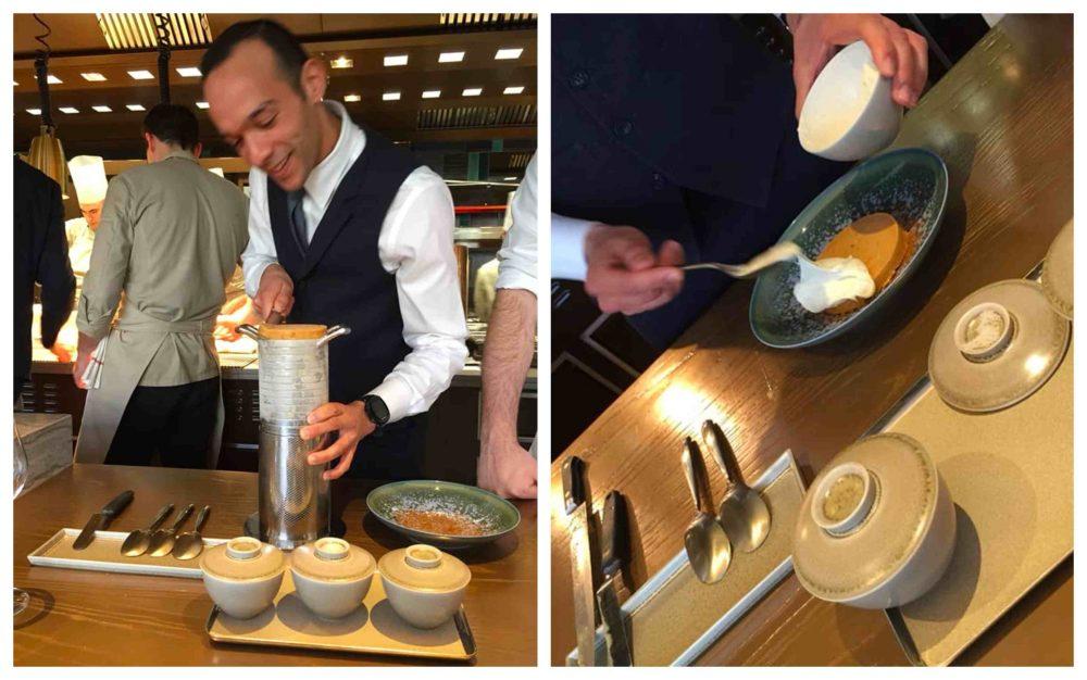 PavYllon a Parigi, il gelato dell'Ambasciatore, servizio