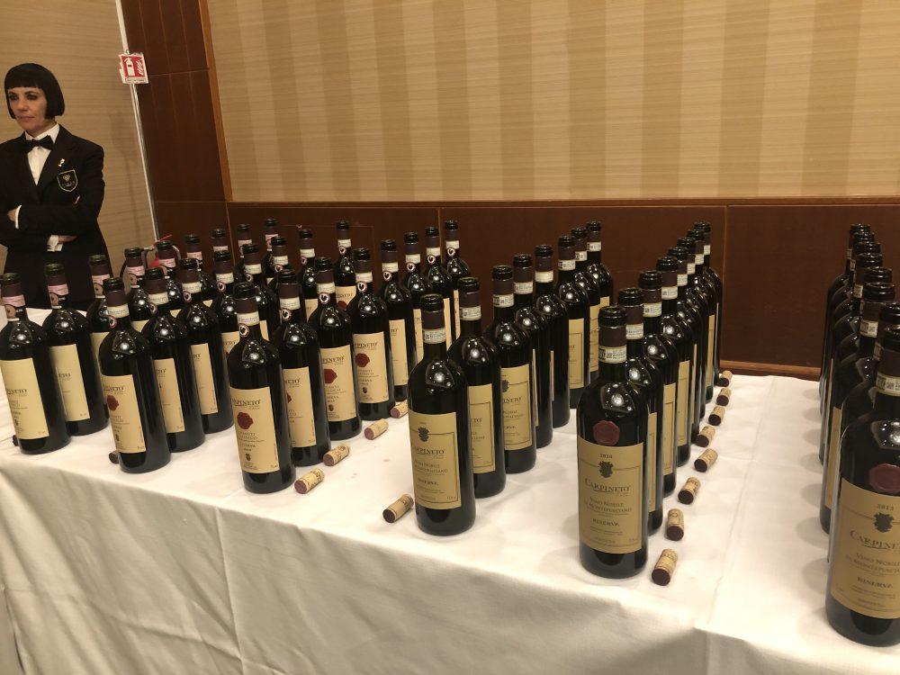 Batteria di Vino Nobile Di Montepulciano DOCG e di Chianti ClassicoDOCG di Carpineto