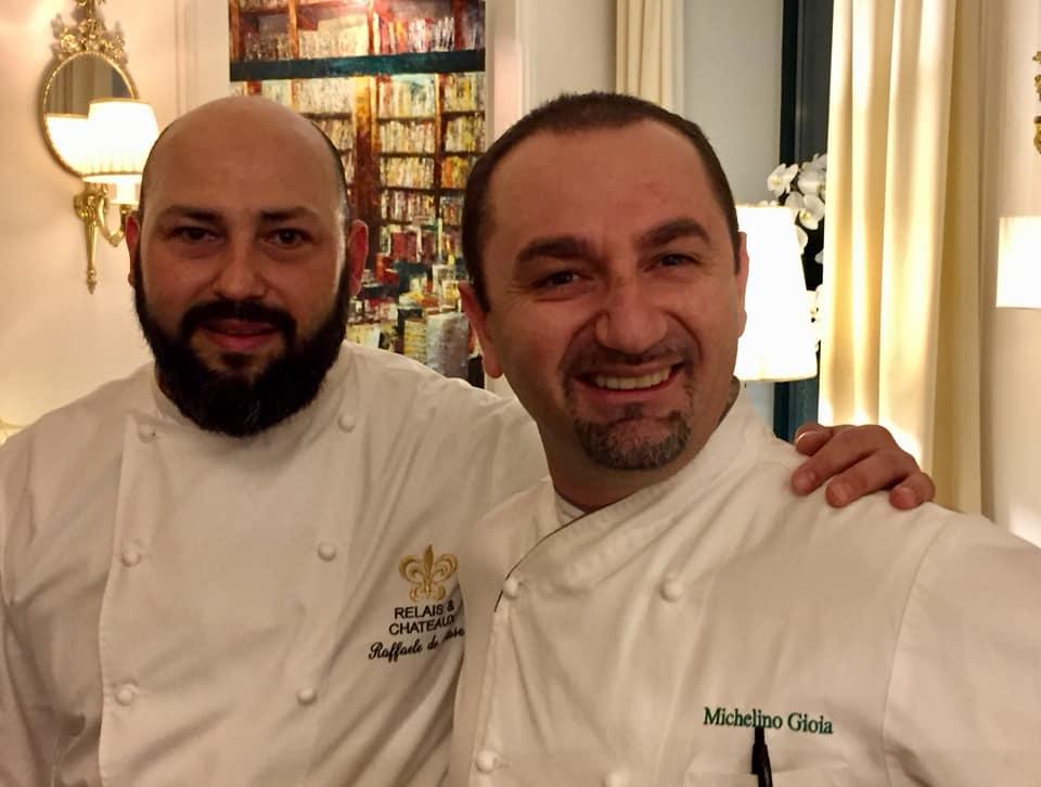 Gli chef della cena a 4 mani, Raffaele de Mase e Michelino Gioia