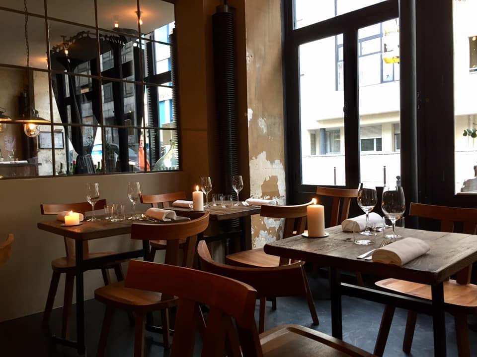 Septime a Parigi, la sala