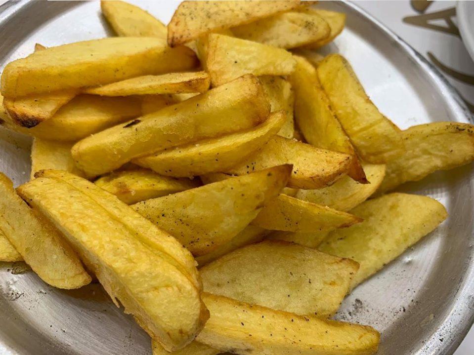 La Cosacca a Pompei - le patate