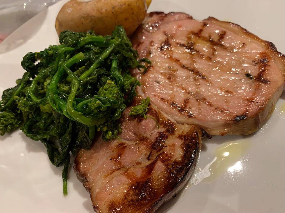 Mood Steakhouse & Garden Bar - La pancia di maiale di Sabatino Cillo Master Gusto e i friarielli