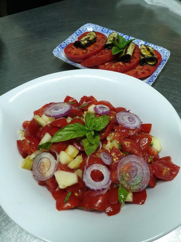 Agriturismo Sorgituro - Pomodori, melanane