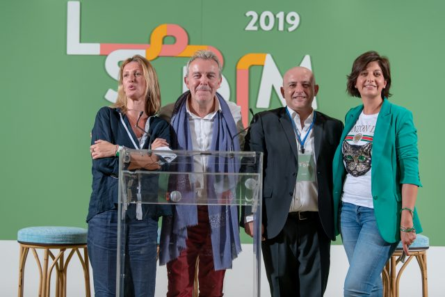 Alain Passard a LSDM 2019 con Barbara Guerra e Albert Sapere