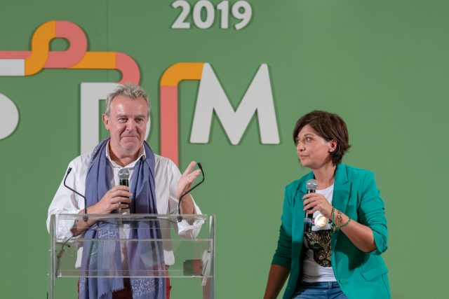 Alain Passard a LSDM 2019 con Barbara Guerra