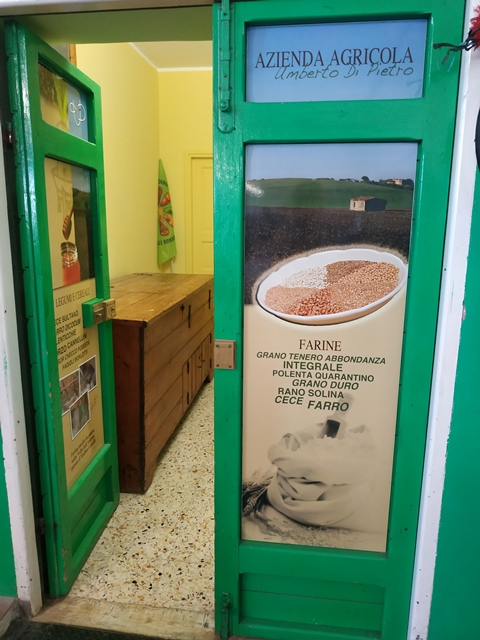 Azienda agricola Umberto Di Pietro - il punto vendita
