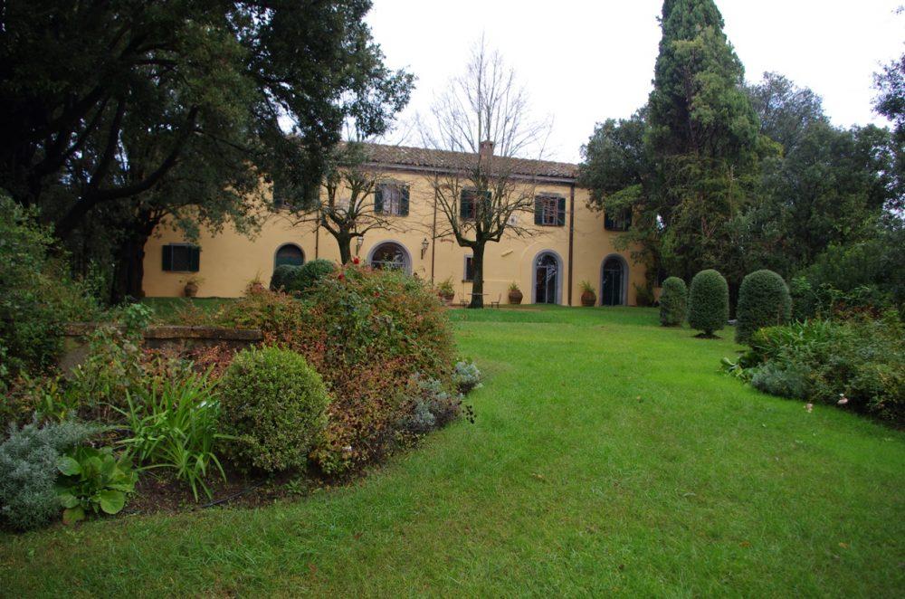 Badia di Morrona - La Villa Padronale