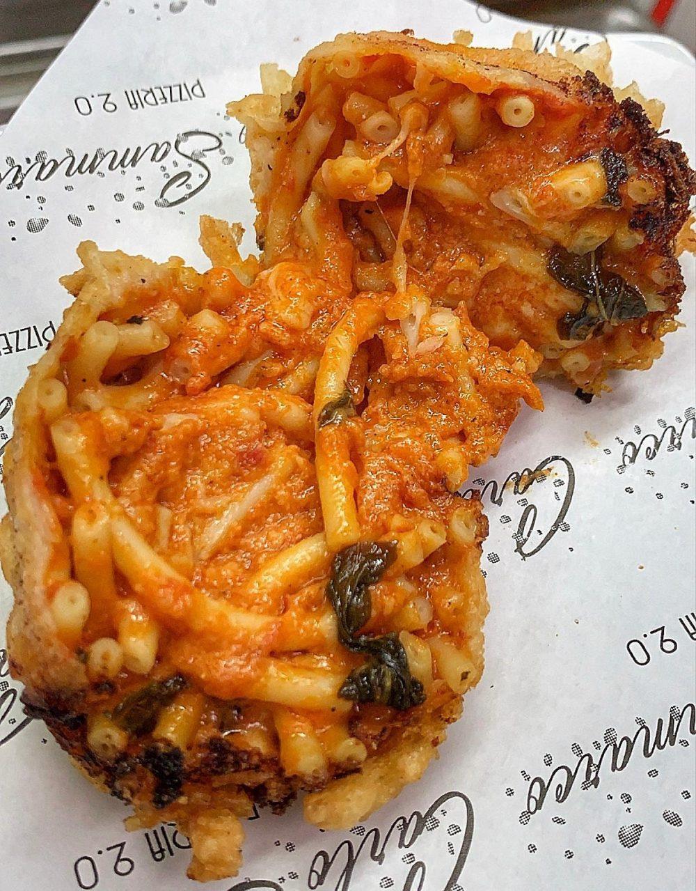 Carlo Sammarco Pizzeria 2.0 - frittatina Maccarona