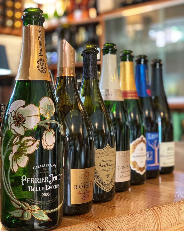Champagne per le feste - bottiglie