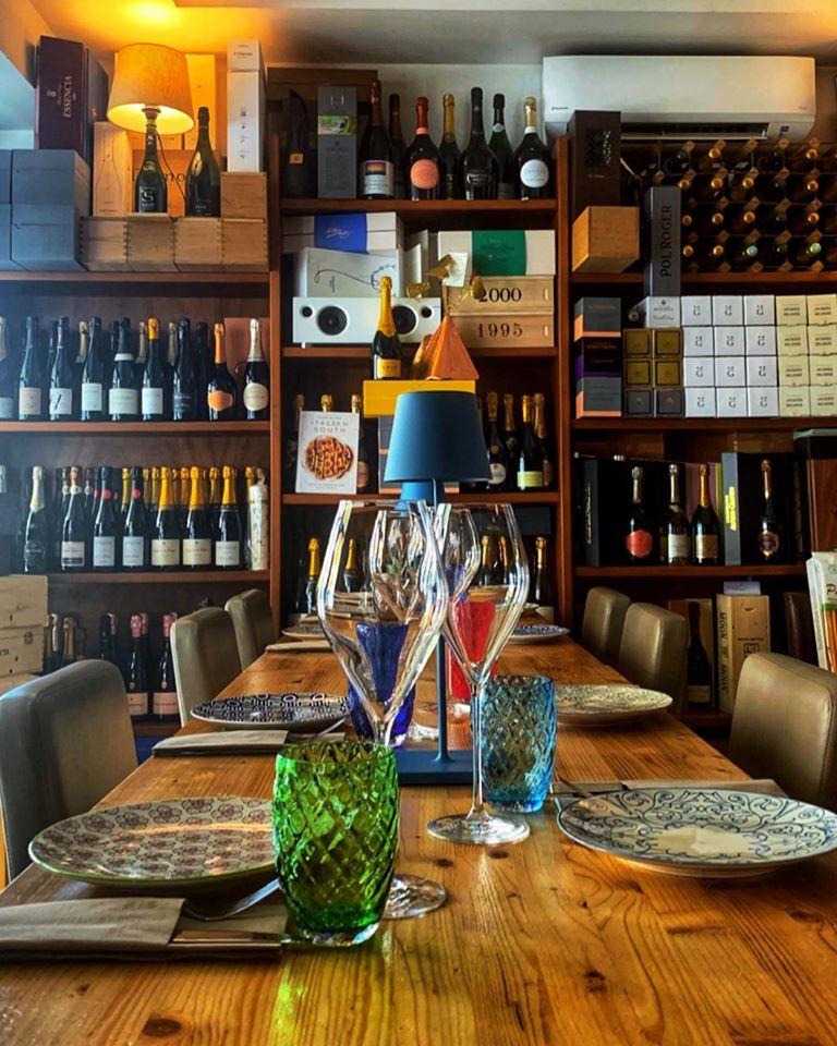 Champagne per le feste - il social table