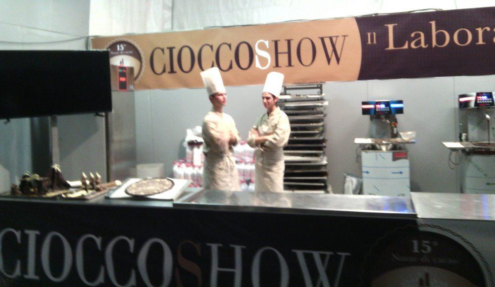 Cioccoshow- I pastry show