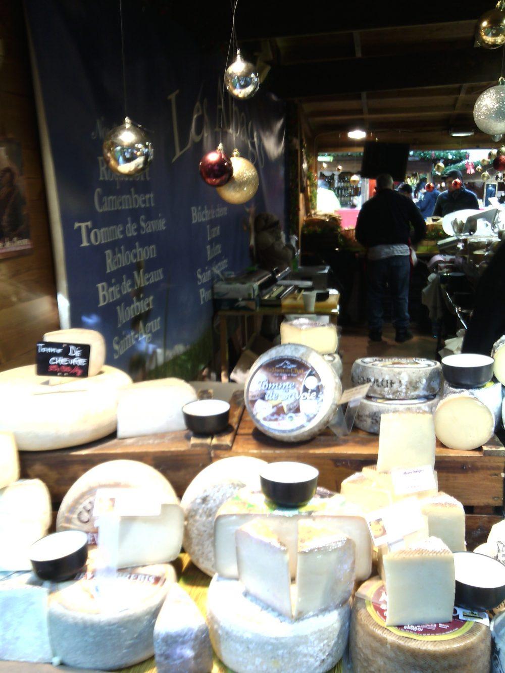Cioccoshow e mercatini- I formaggi francesi