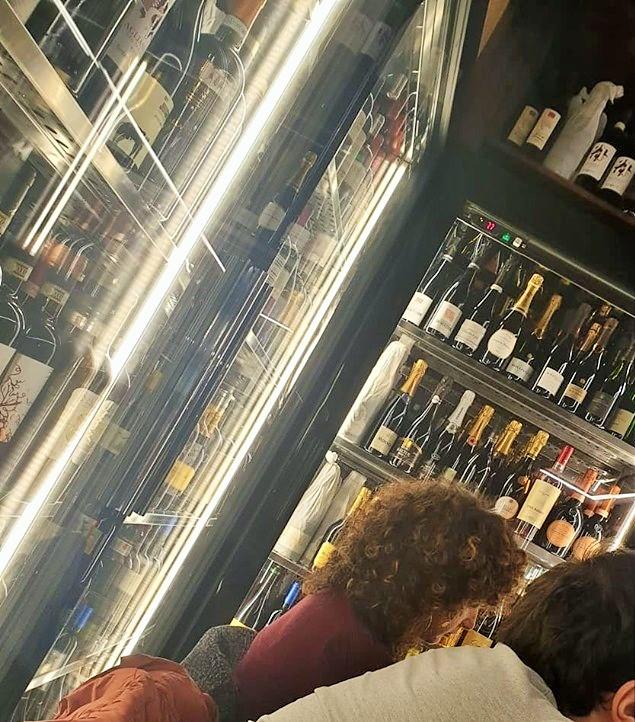Da Gigione - Particolare del reparto vini