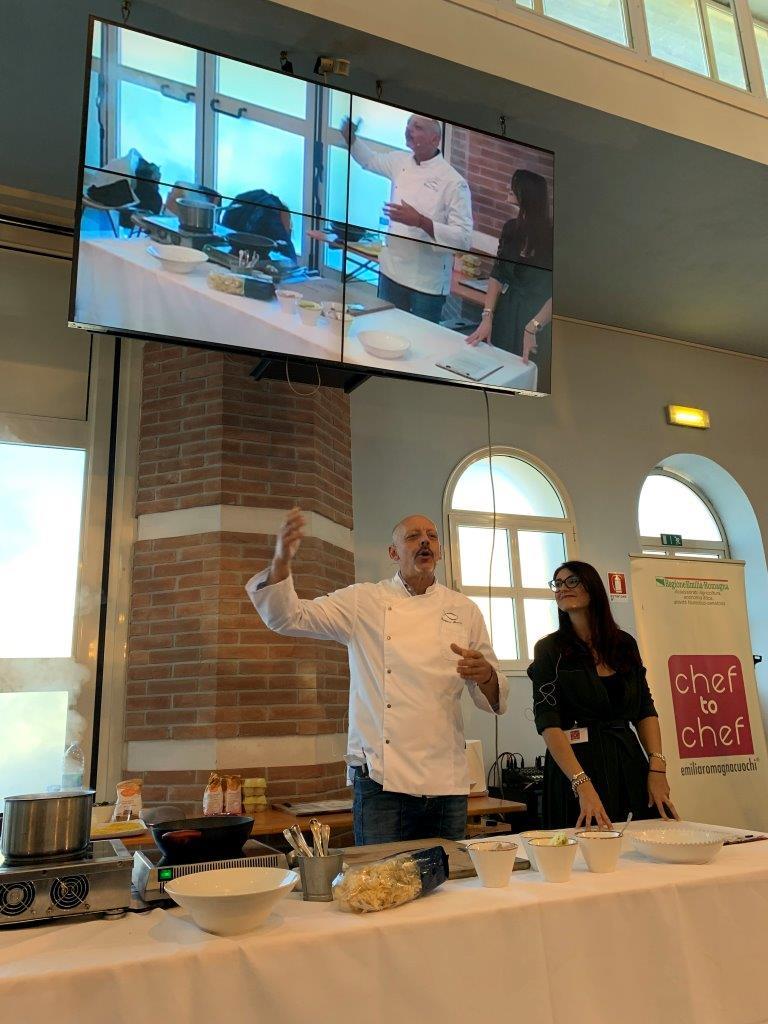 Di Porto in Porto- Lo show cooking di Pascucci