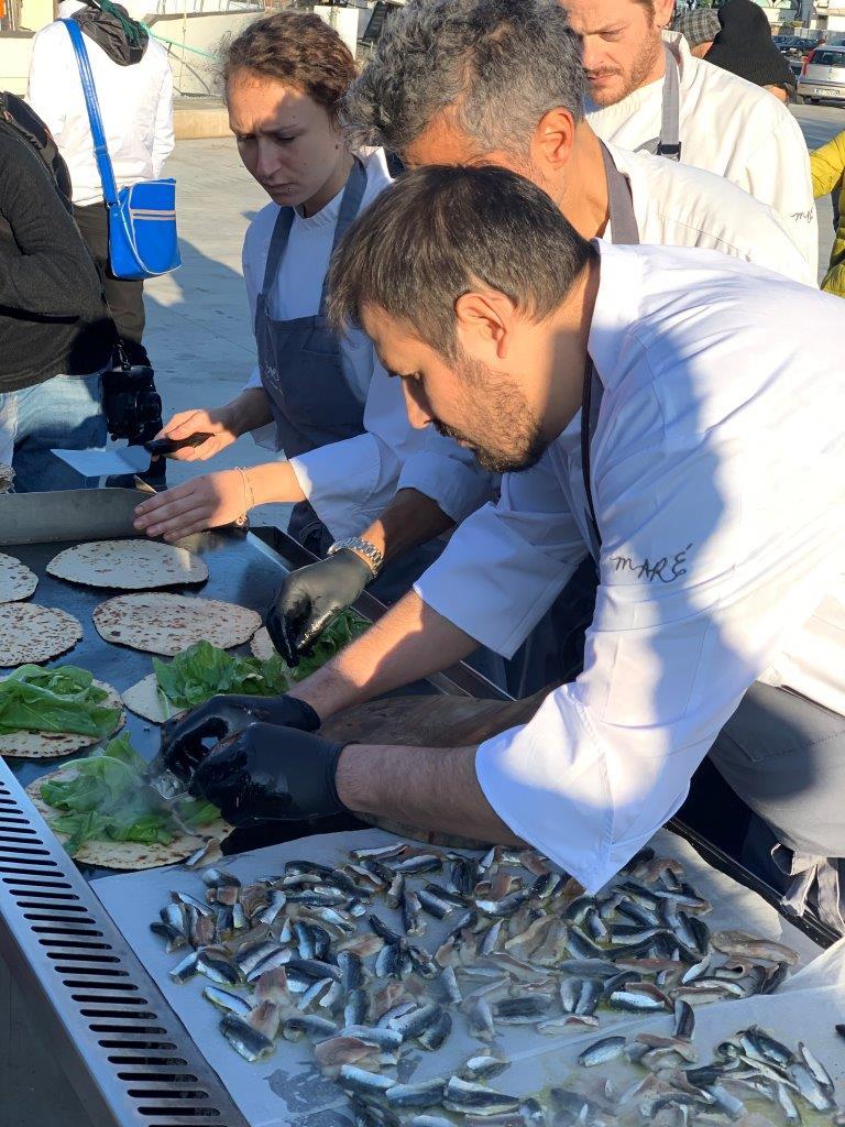Di Porto in Porto- Piadina e sardine
