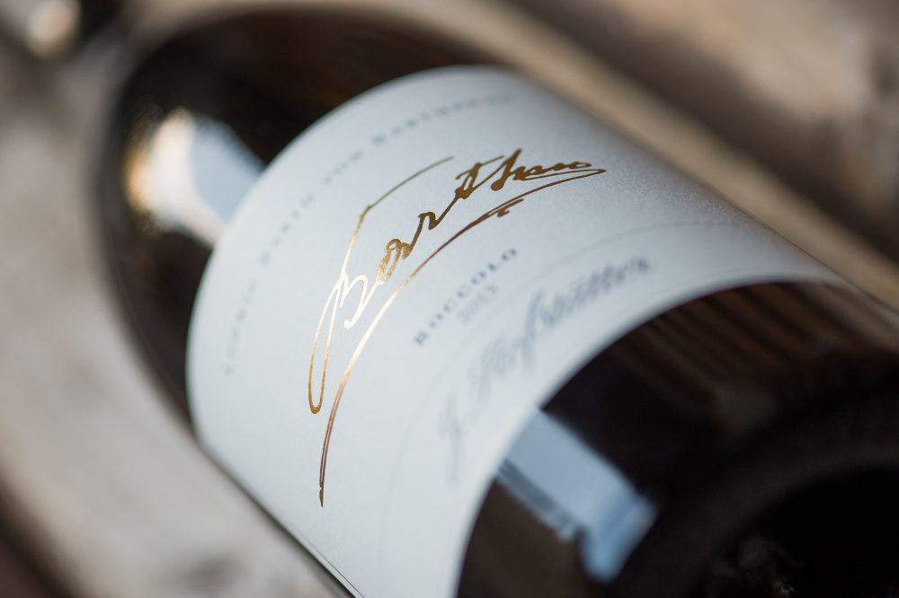 Flaschen Etikett Ludwig Barthenau Roccolo