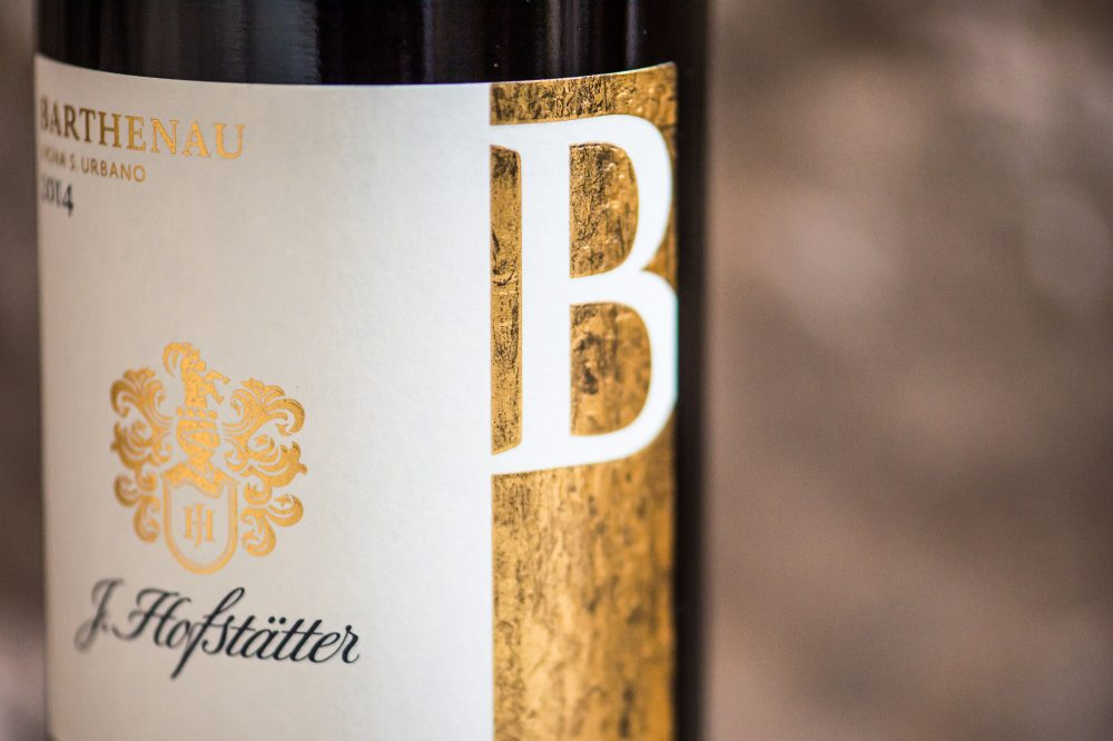 Flaschen Etikette B Barthenau Vigna S. Urbano