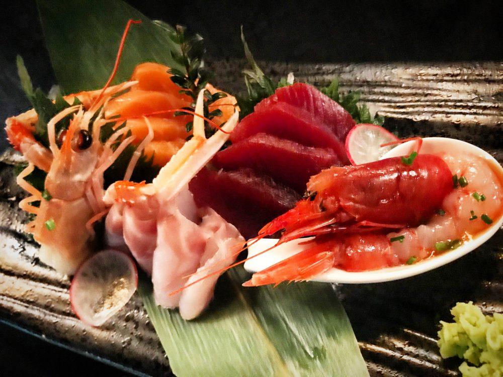 Izu Milano, Sashimi Selection