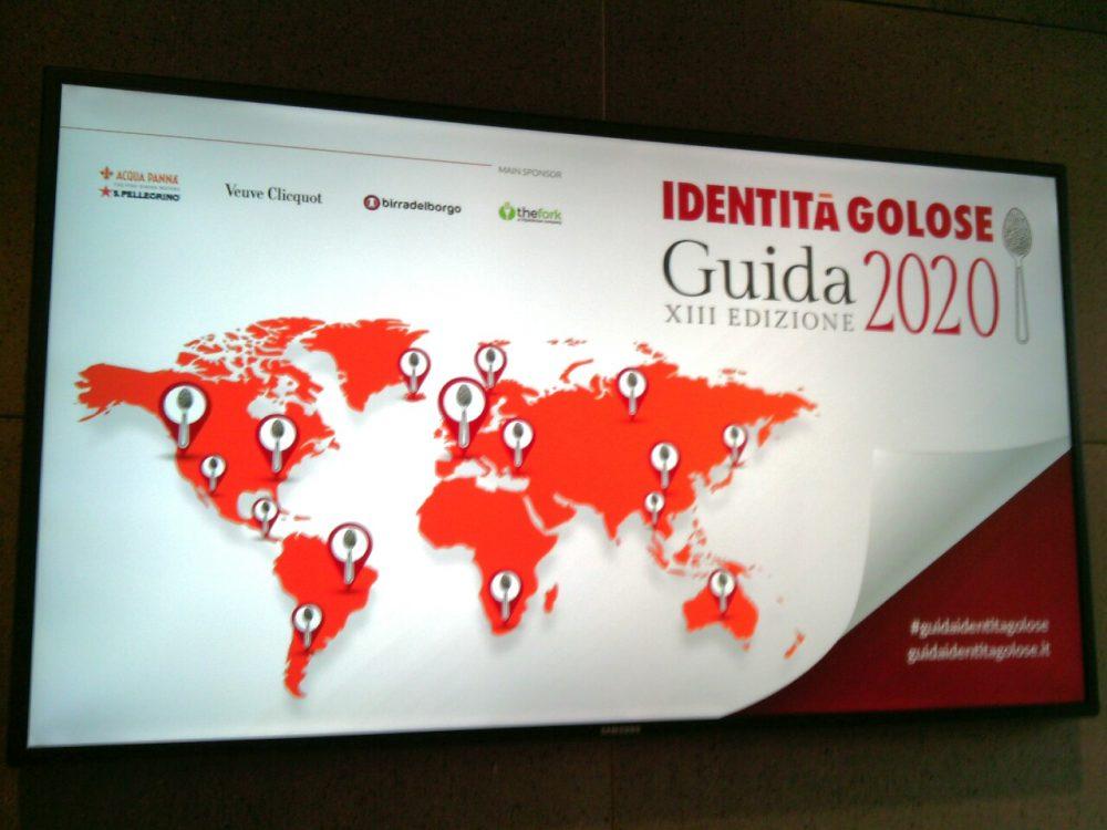 Guida Identita' Golose 2020
