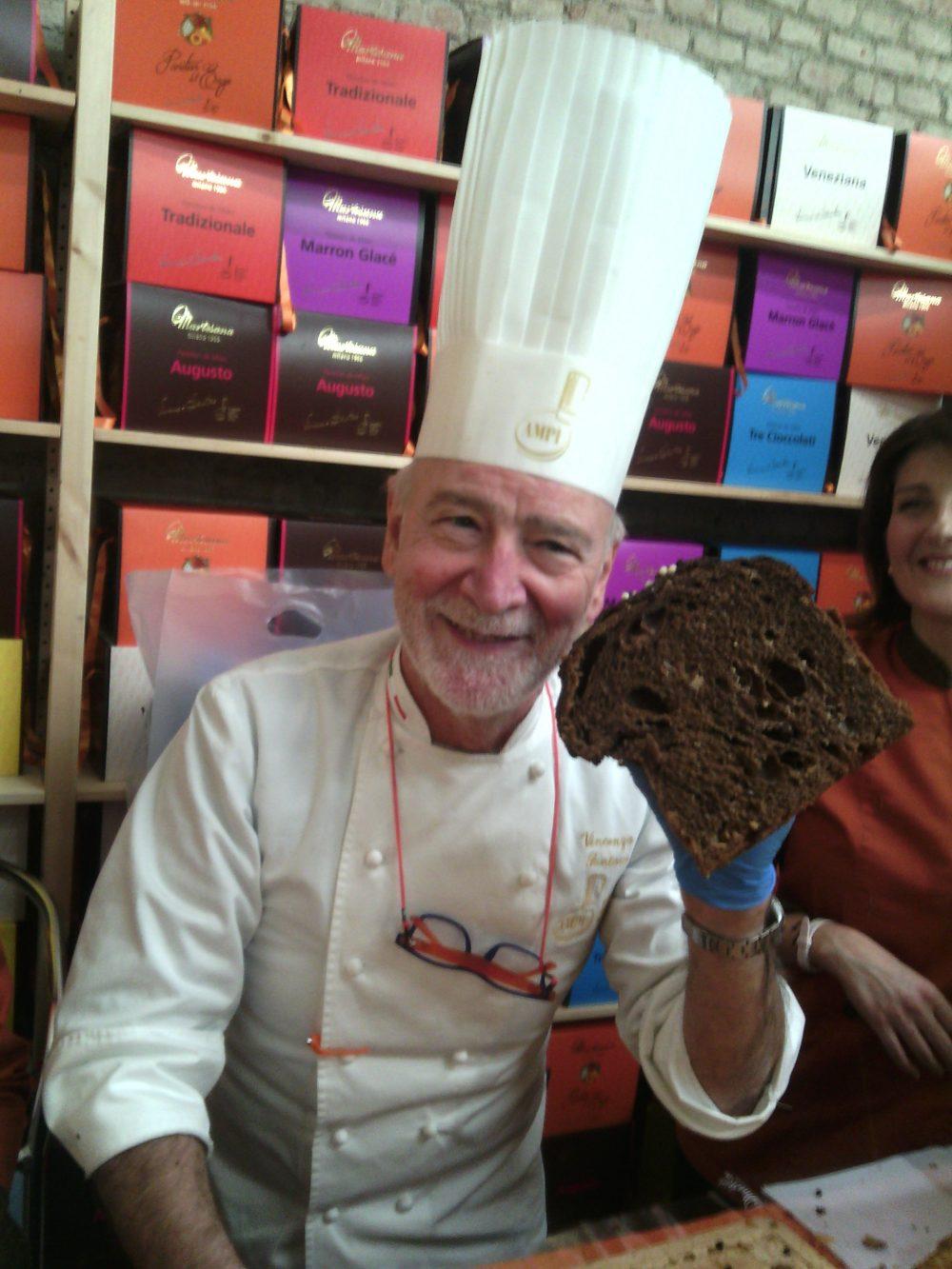 I Maestri del Panettone- Panettone ai tre cioccolati di Santoro