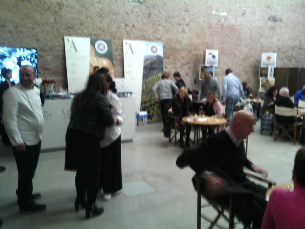I Maestri del Panettone- La sala degustazioni