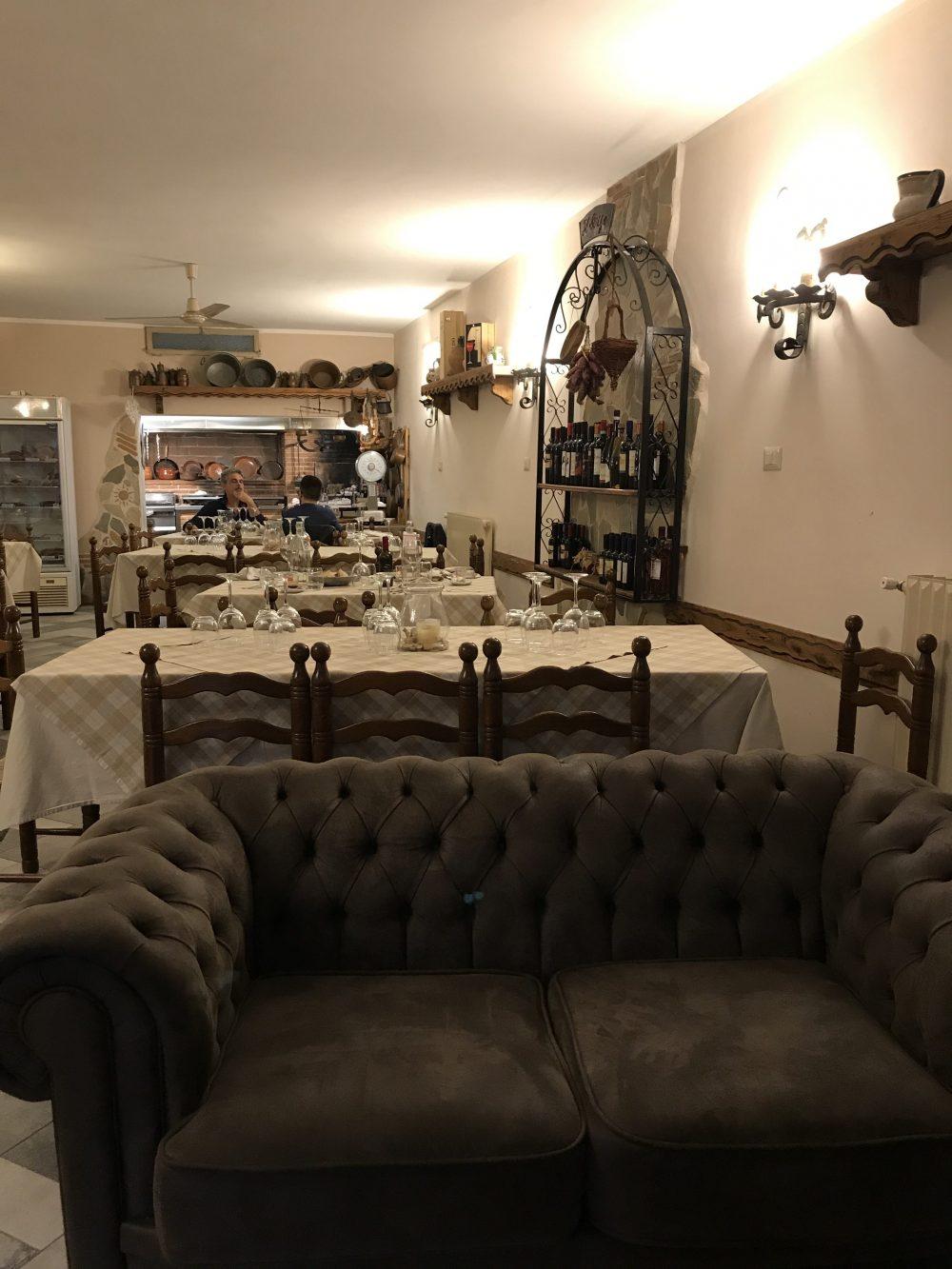 Il Borgo da Modesto - Sala