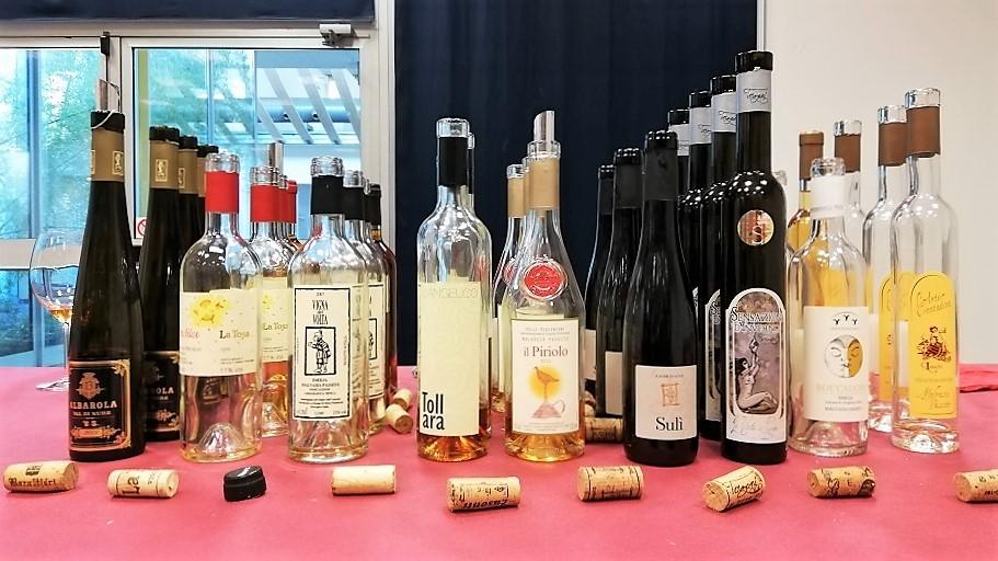 La Malvasia passita dei Colli Piacentini - Bottiglie