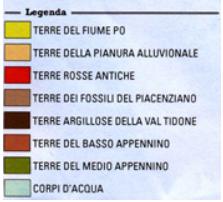 La Malvasia passita dei Colli Piacentini - Legenda