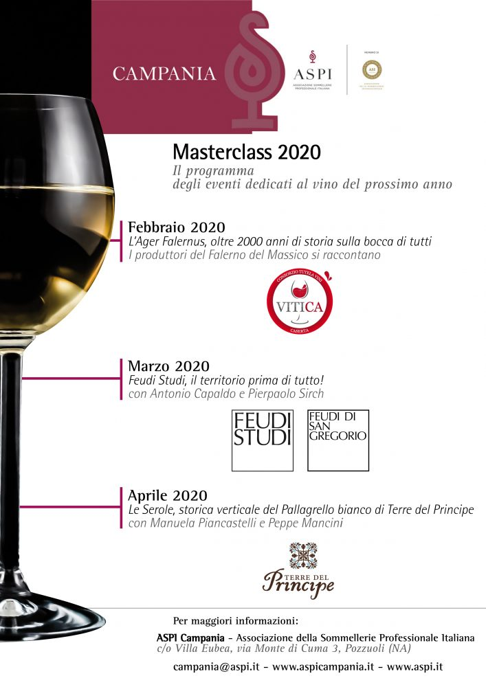 Locandina MASTER CLASS 2020 Aspi Campania