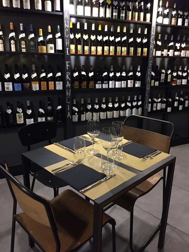Magazzino Scipioni, uno dei tavoli