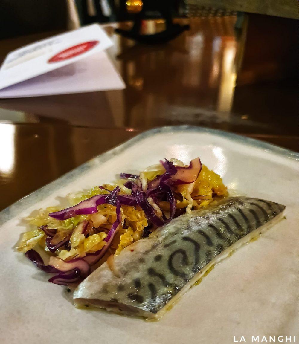 Matrix 1, mackerel, kimchi, sesame